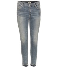 Citizens Of Humanity Rocket High Rise Skinny Jeans Blue