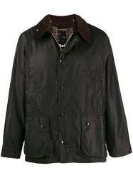 Barbour Snap Button Jacket Brown