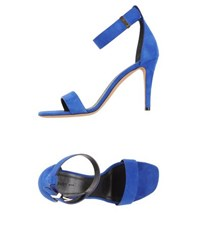 Celine Celine Footwear Sandals Women Blue
