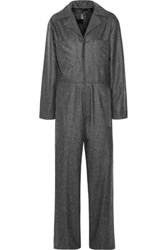 1205 Wool Jumpsuit Dark Gray