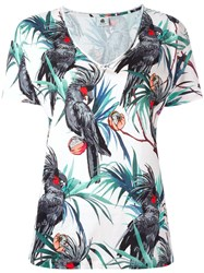 Paul Smith Ps By Parrot Print T Shirt