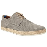 John Lewis Kin By Espadrille Lace Up Shoes Mushroom