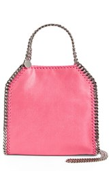 Stella Mccartney 'Mini Falabella Shaggy Deer' Faux Leather Tote Pink Hot Pink
