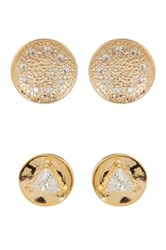 Melinda Maria Joan Pod Stud And Mini Nelly Stud Earrings Set Blue