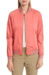 Ted Baker Women's London Calda Zigzag Trim Bomber Coral