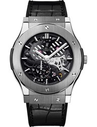 Hublot 515Nx0170lr Classic Fusion Titanium And Leather Watch