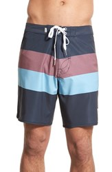 Men's Rhythm 'The Julian' Stripe Board Shorts