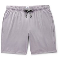 Schiesser Josef Cotton Jersey Pyjama Shorts Purple