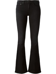 Rag And Bone Rag And Bone Flared Jeans Black