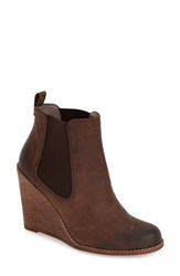 Women's Hinge 'Tracker' Wedge Bootie 3 3 4' Heel