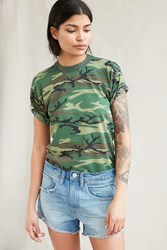 Urban Renewal Recycled Camo Tee Green