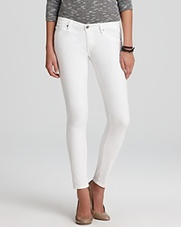Ag Adriano Goldschmied Jeans The Legging Ankle In White