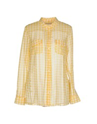 Stefanel Shirts Shirts Women Yellow