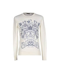 39 Masq Knitwear Jumpers Men White