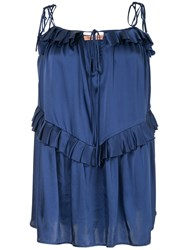 Maggie Marilyn Heart Of Gold Top Blue