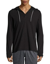 Bench Hooded Long Sleeved Henley