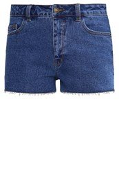 Evenandodd Denim Shorts Dark Blue Denim Dark Blue Denim