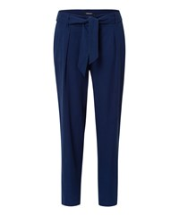 Olsen Cropped Trousers Navy