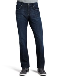 7 For All Mankind Austyn Los Angeles Dark Jeans 36 Blue