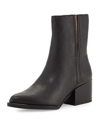 Sam Edelman Circus Raylan Leather Pointed Toe Bootie Black
