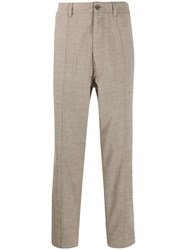 Pringle Of Scotland Tapered Trousers Neutrals