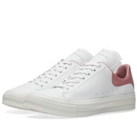 Alexander Mcqueen Leather Cupsole Sneaker White