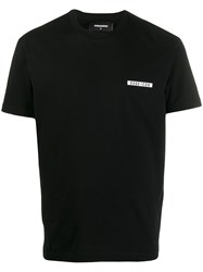 Dsquared2 Logo Print Relaxed Fit T Shirt 60