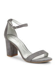Bandolino Armory Open Toe Sandals Grey