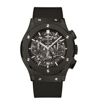 Hublot Classic Fusion Aerofusion Black Magic Ceramic Watch Unisex