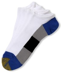 Gold Toe Men's Socks Athletic Cushion Liner 4 Pack Only At Macy's White Royal