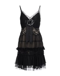 Basix Ii Short Dresses Black