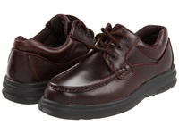 Hush Puppies Gus Dark Brown Leather Men's Lace Up Casual Shoes
