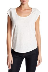 Soft Joie Accalia Beaded Tee White