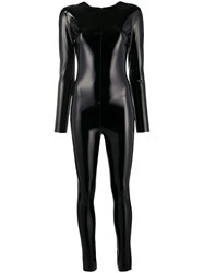 Alchemy Shinny Effect Fitted Jumpsuit 60