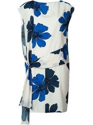 Chloe Chloe Flower Print Dress White