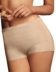 Maidenform 2 Pack Everyday Control Boyshort Latte