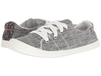 Not Rated Rae Charcoal Women's Lace Up Casual Shoes Gray
