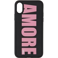 Dolce And Gabbana Black Amore Iphone X Case