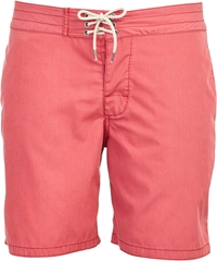 Faherty Board Shorts Red