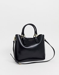 Carvela Eleanor Two Tone Tote Black