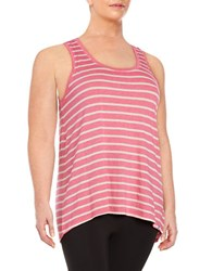 Marc New York Striped Tank Top Red