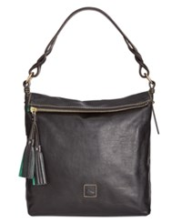Dooney And Bourke Small Sloan Hobo Black