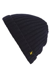 Eddie Bauer Ilaria Men's Eddie Bauer 'Ilaria Urbinati Collection River Rock' Beanie Blue Navy