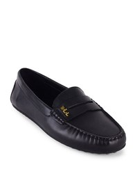 Lauren Ralph Lauren Belen Leather Loafers Black
