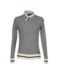 Franklin And Marshall Sweaters Grey