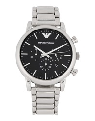 Emporio Armani Wrist Watches Silver