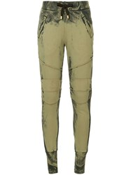 Balmain Pierre Tapered Track Pants Green