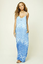 Forever 21 Boho Me Abstract Print Dress