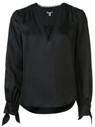 Zac Posen 'Savannah' Blouse Black