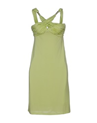Guess By Marciano Short Dresses Light Green